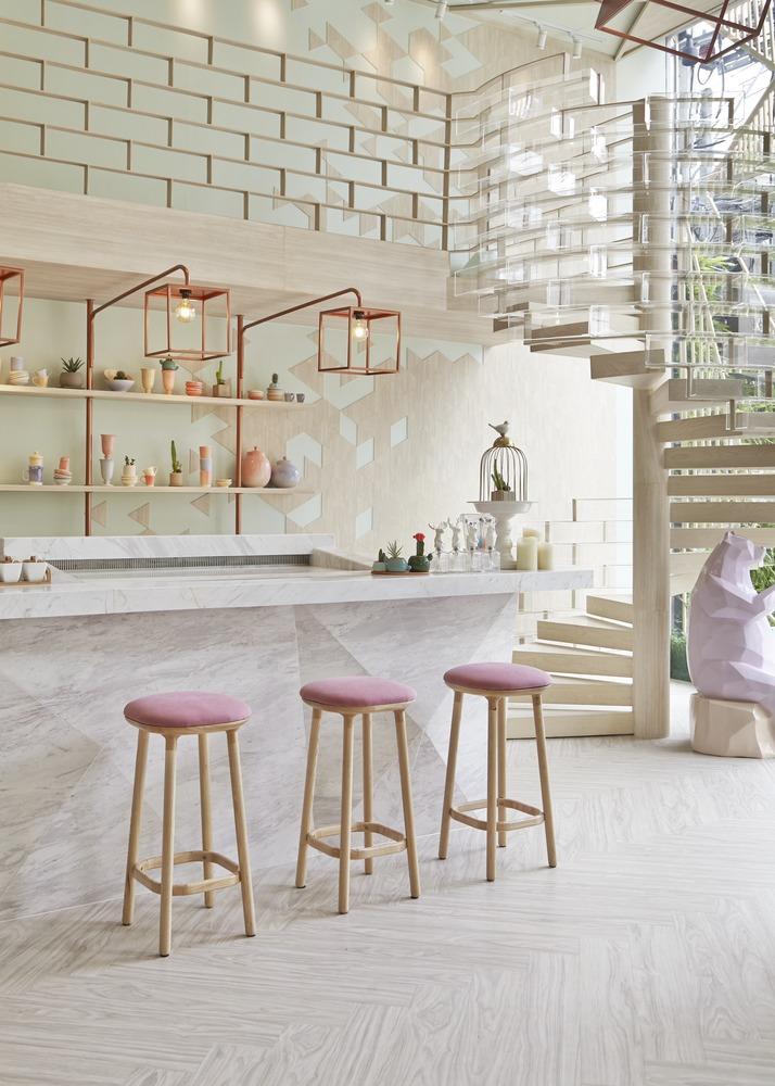 Mejor Restaurante en Asia: Shugaa (Bangkok, Tailandia) / Party Space Design