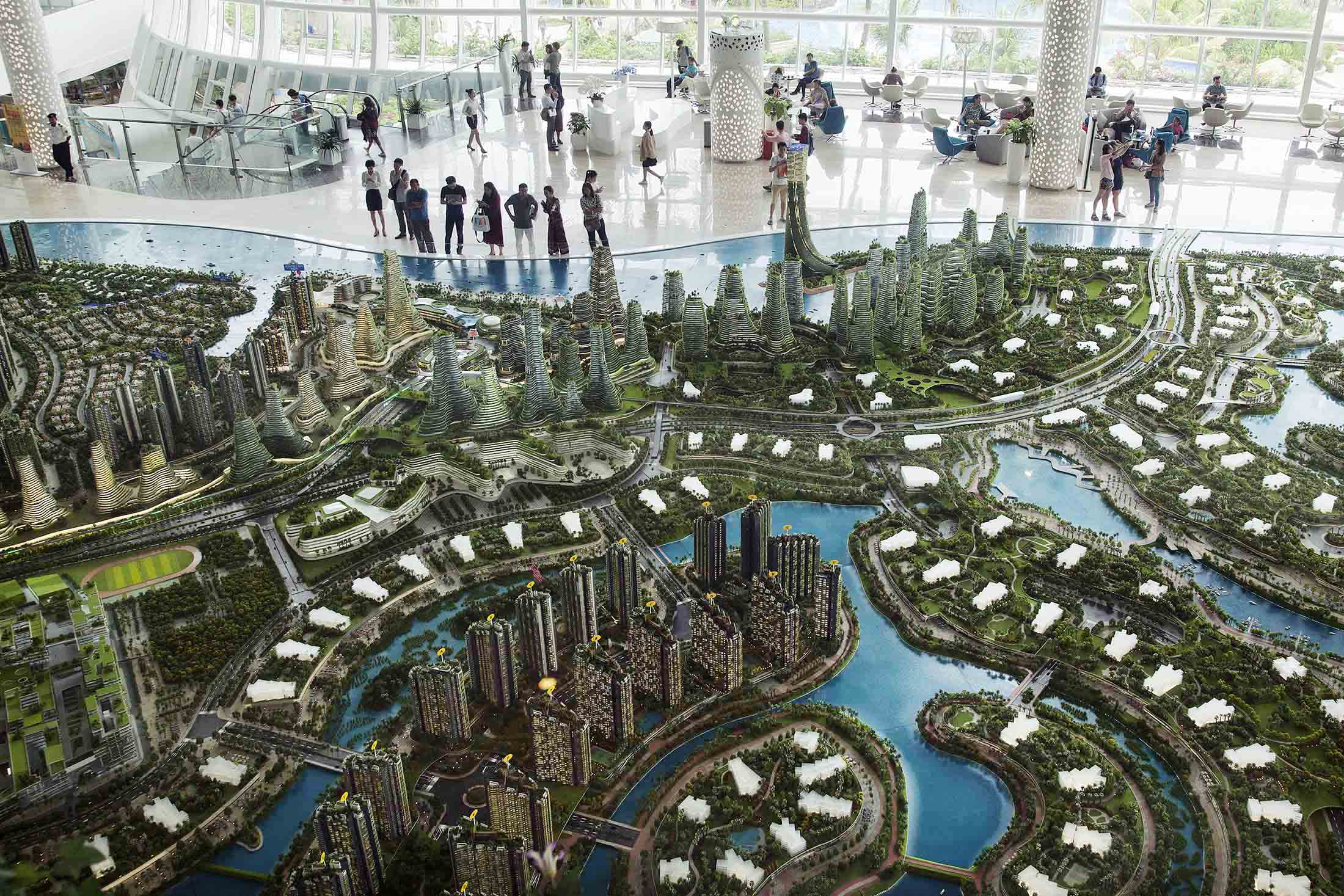 Proyecto de Forest City en Malasia.Ore Huiying/Bloomberg / Ore Huiying/Bloomberg
