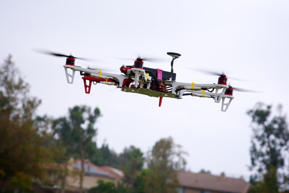 4. Drones para monitorizar las obras