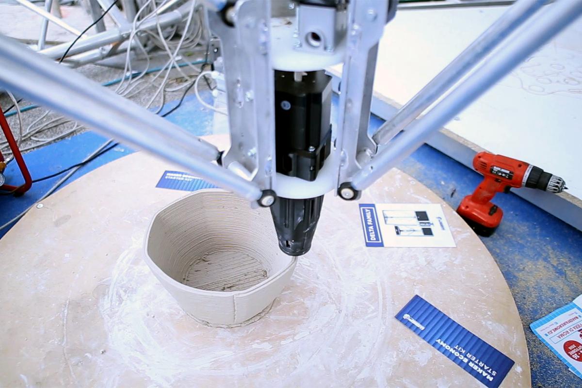 2. Impresión 3D para construir con materiales alternativos