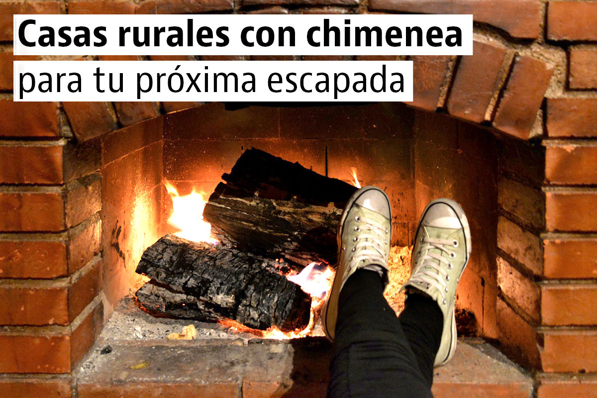 Las mejores casas rurales con chimenea