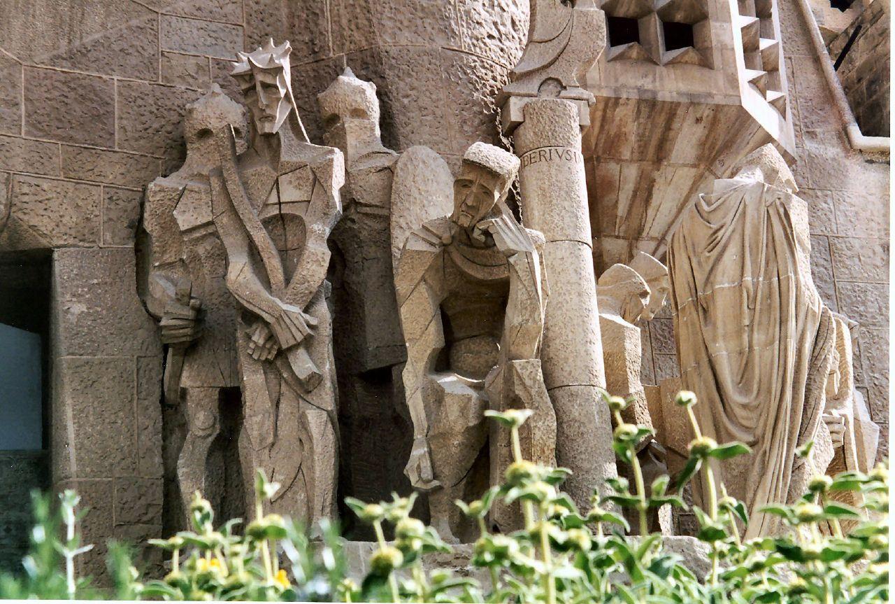 Detalle de la Fachada de la Pasión. Origen: Wikipedia