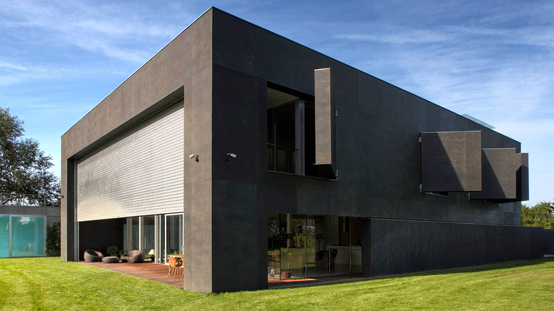 Una casa fortaleza