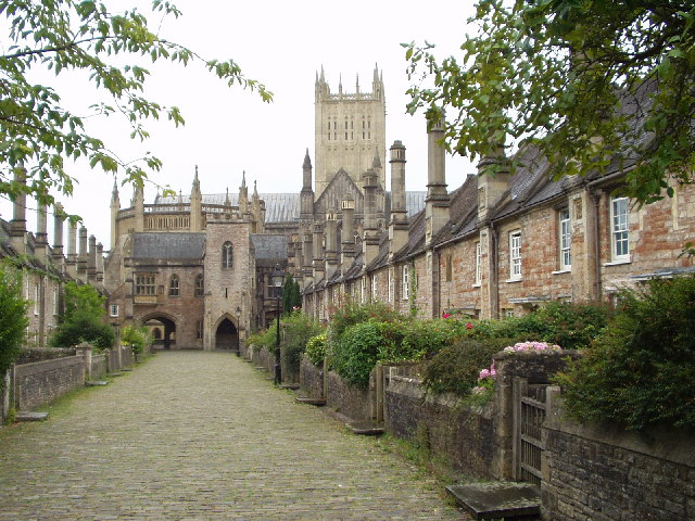 Vicars' Close, Wells, Somerset (UK)