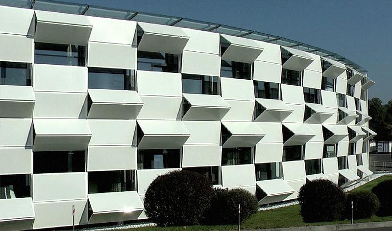 Kiefer Technic Showroom, Austria. Giselbrecht + Partner