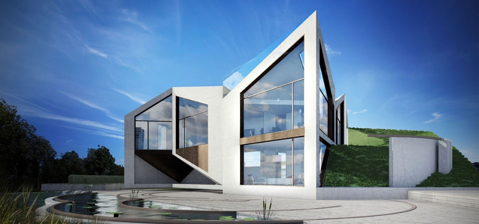 Casa origami. D*Haus Company