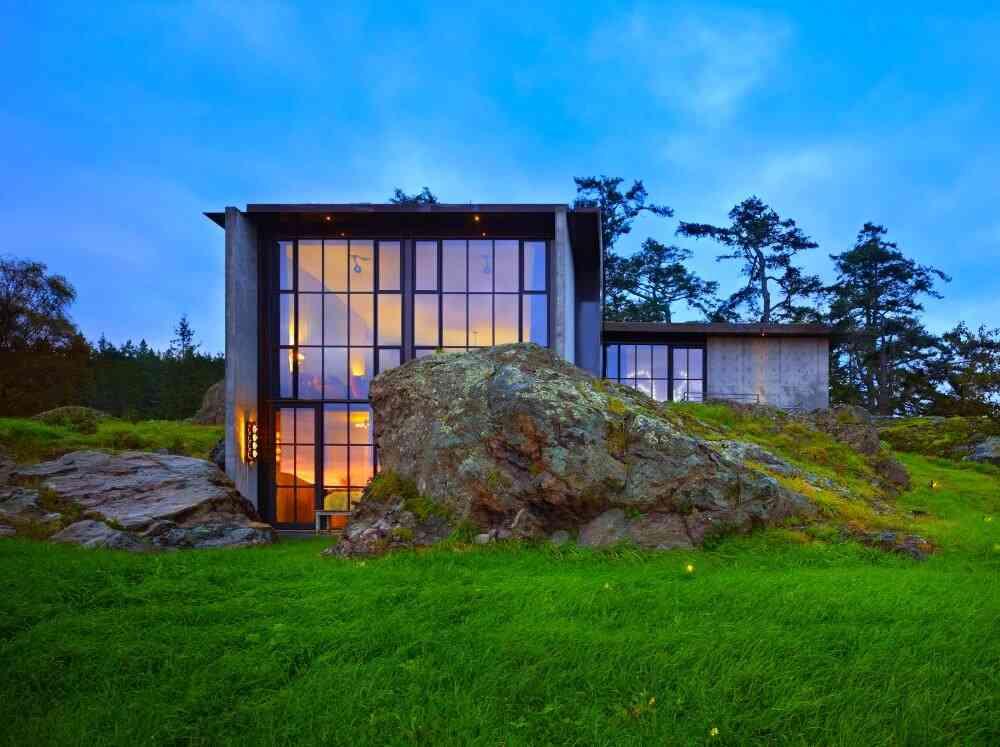10 ejemplos de c mo levantar casas entre las rocas