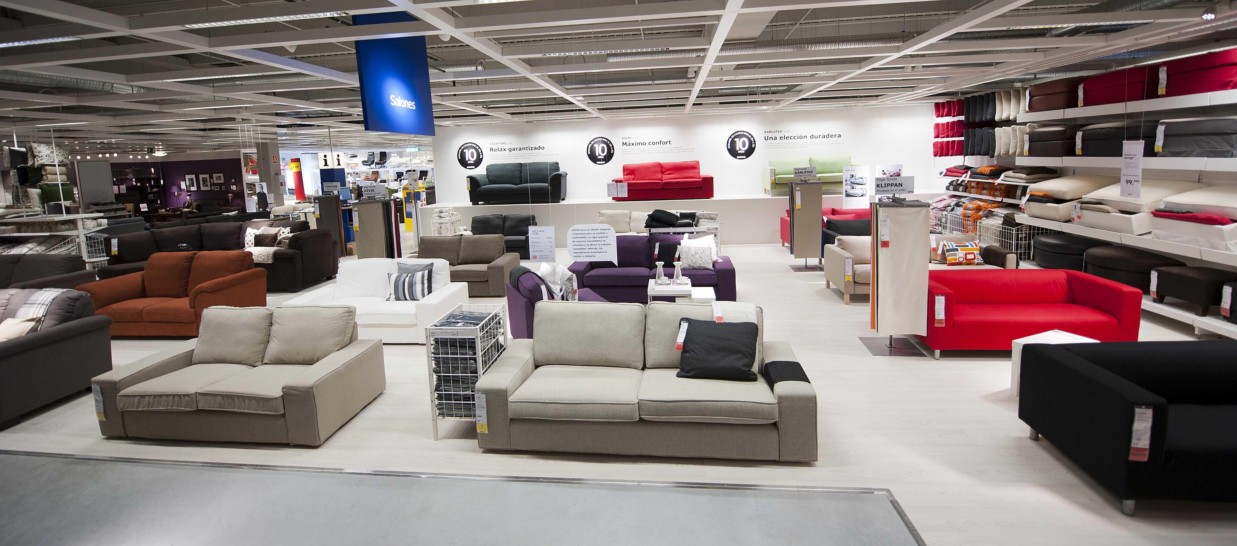 Tiendas de sofas en madrid excellent tienda muebles - Muebles ikea sevilla ...