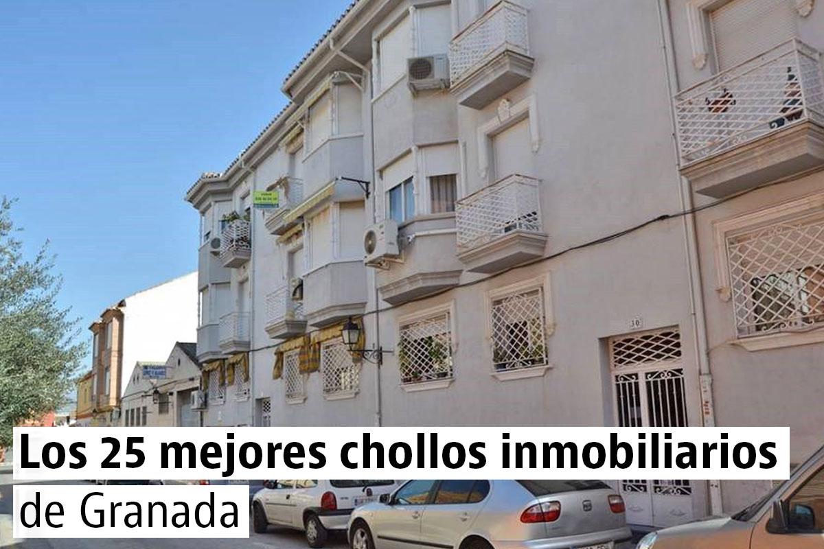 Los 25 mejores chollos inmobiliarios de Granada