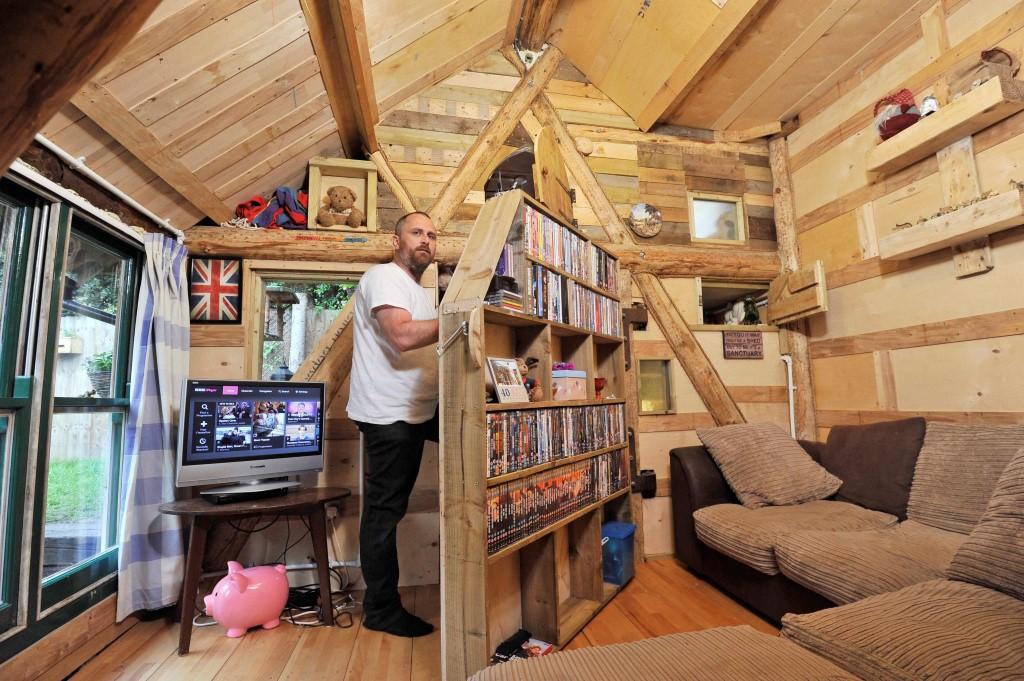 La mejor 'mini-casa' de 2016 está construida con un 90% de materiales reciclados
