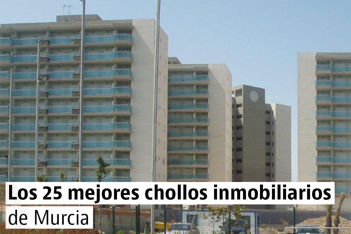 Los 25 mejores chollos inmobiliarios de Murcia