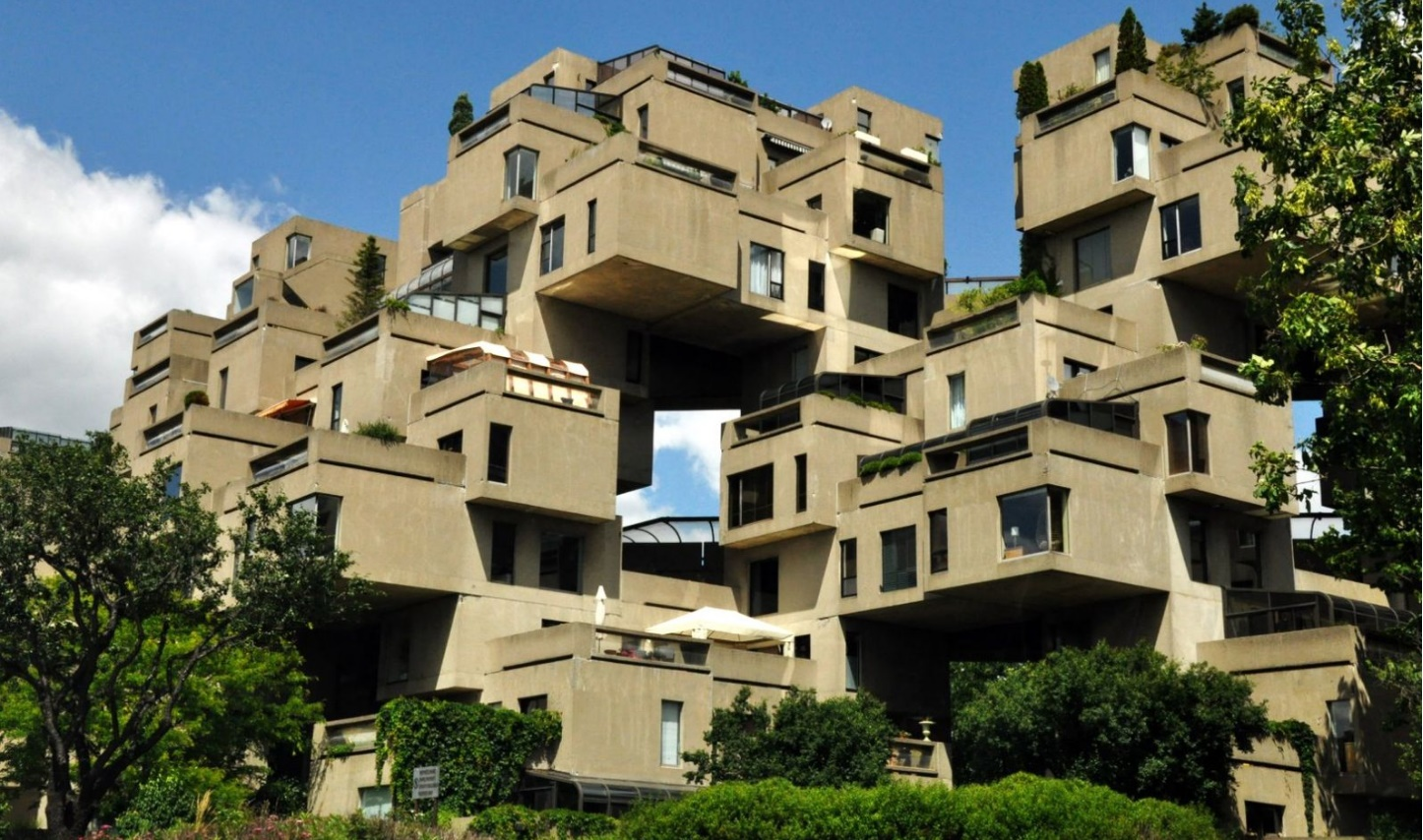The Habitat Housing Complex, Canadá