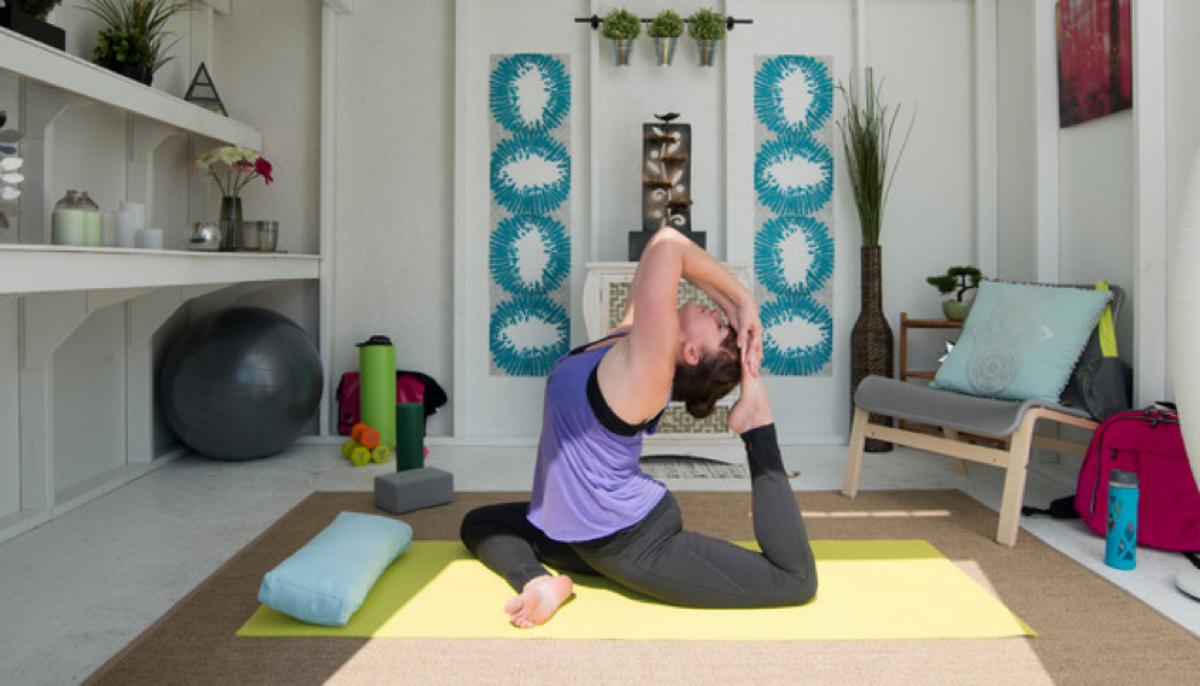 Gu a pr ctica para dise ar una zona de yoga y meditaci n - Espacio para el yoga ...
