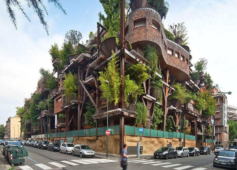 Casa árbol (Turín, Italia)