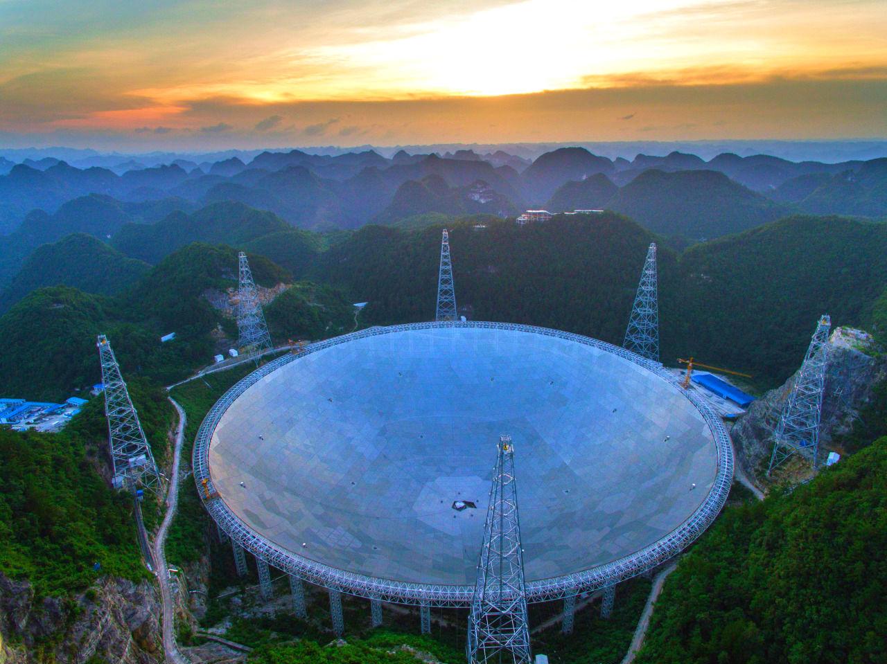 El mayor radiotelescopio