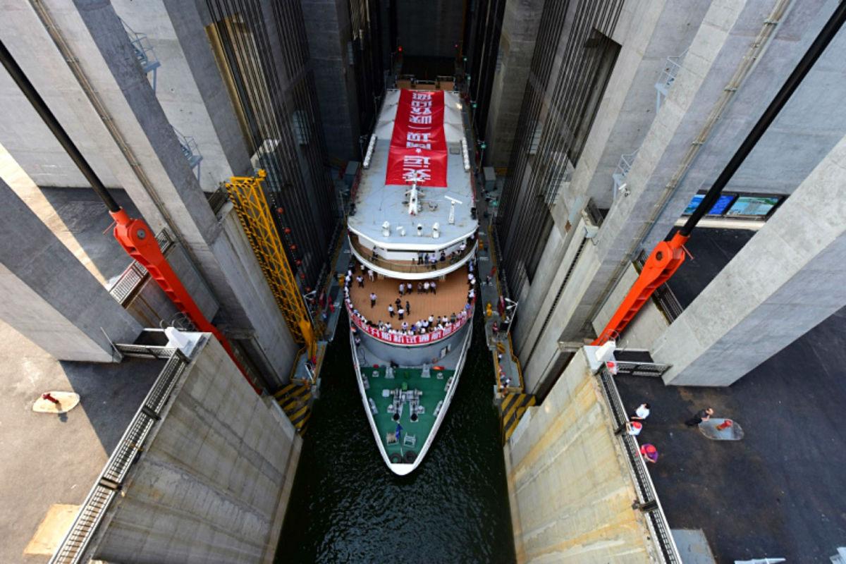 El mayor ascensor de barcos