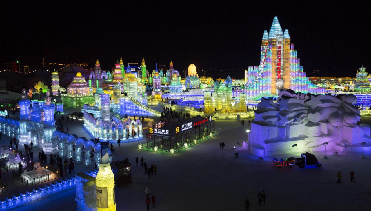 La mayor ciudad de hielo