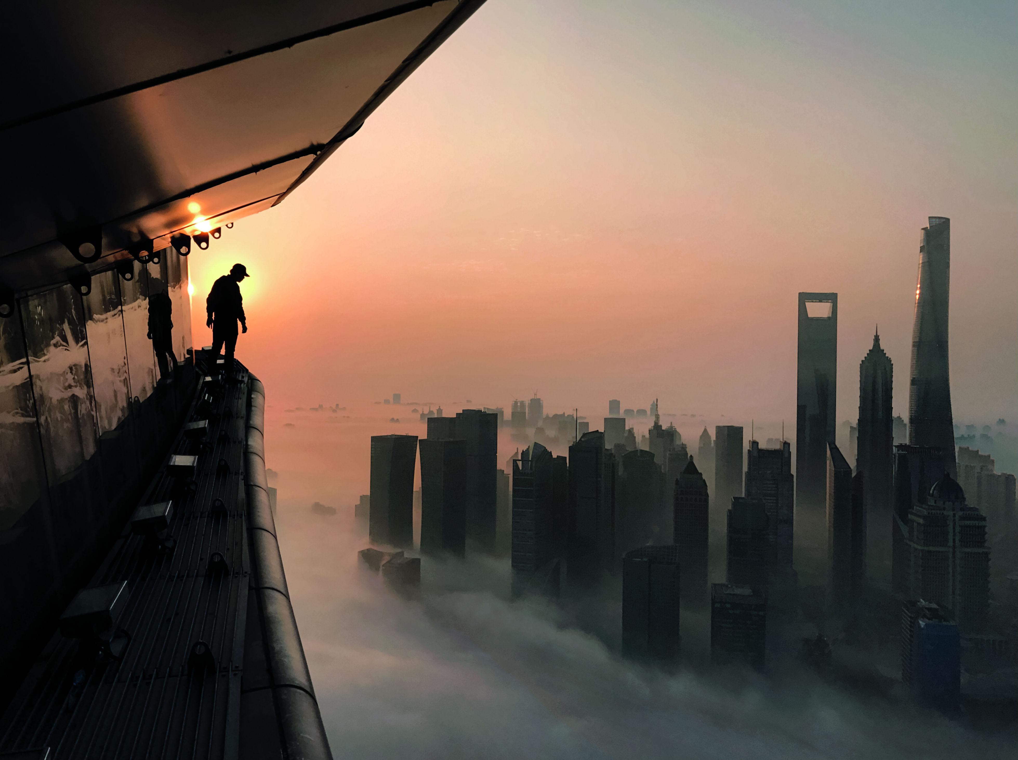 Shanghai desde las alturas (China)