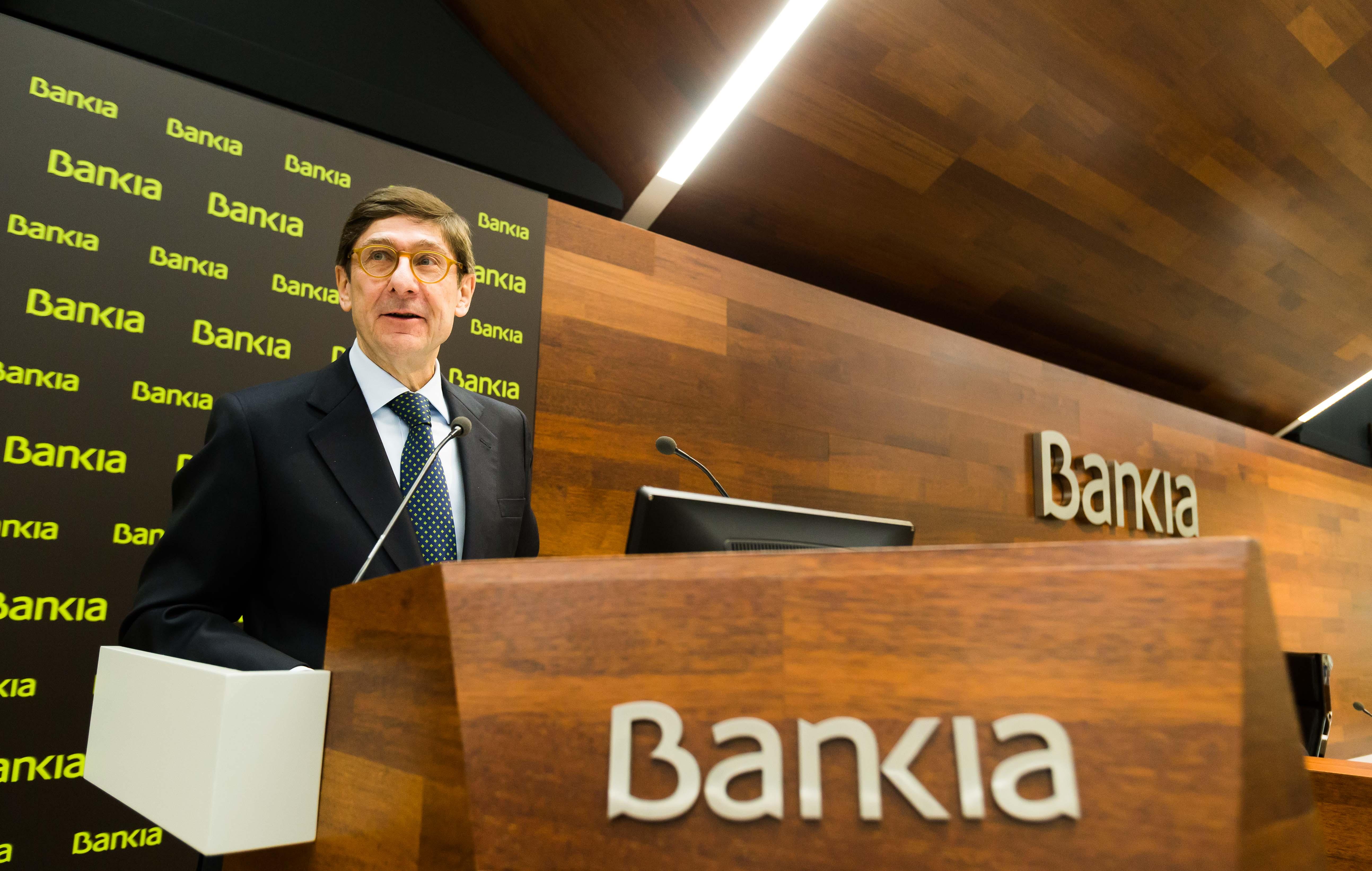 José Ignacio Gorigolzarri, presidente de Bankia / Bankia