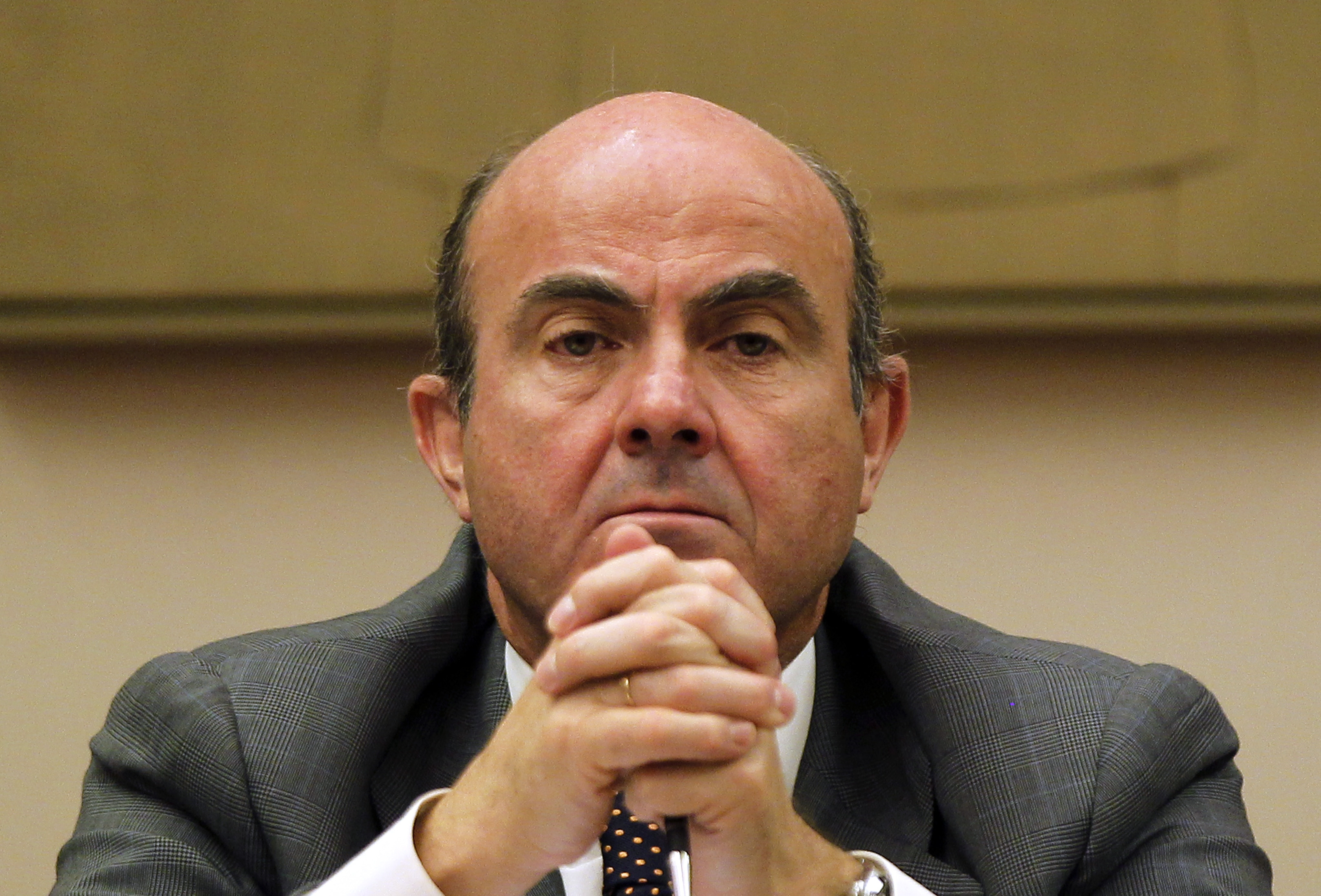 Luis de Guindos, ministro de Economía / Gtres