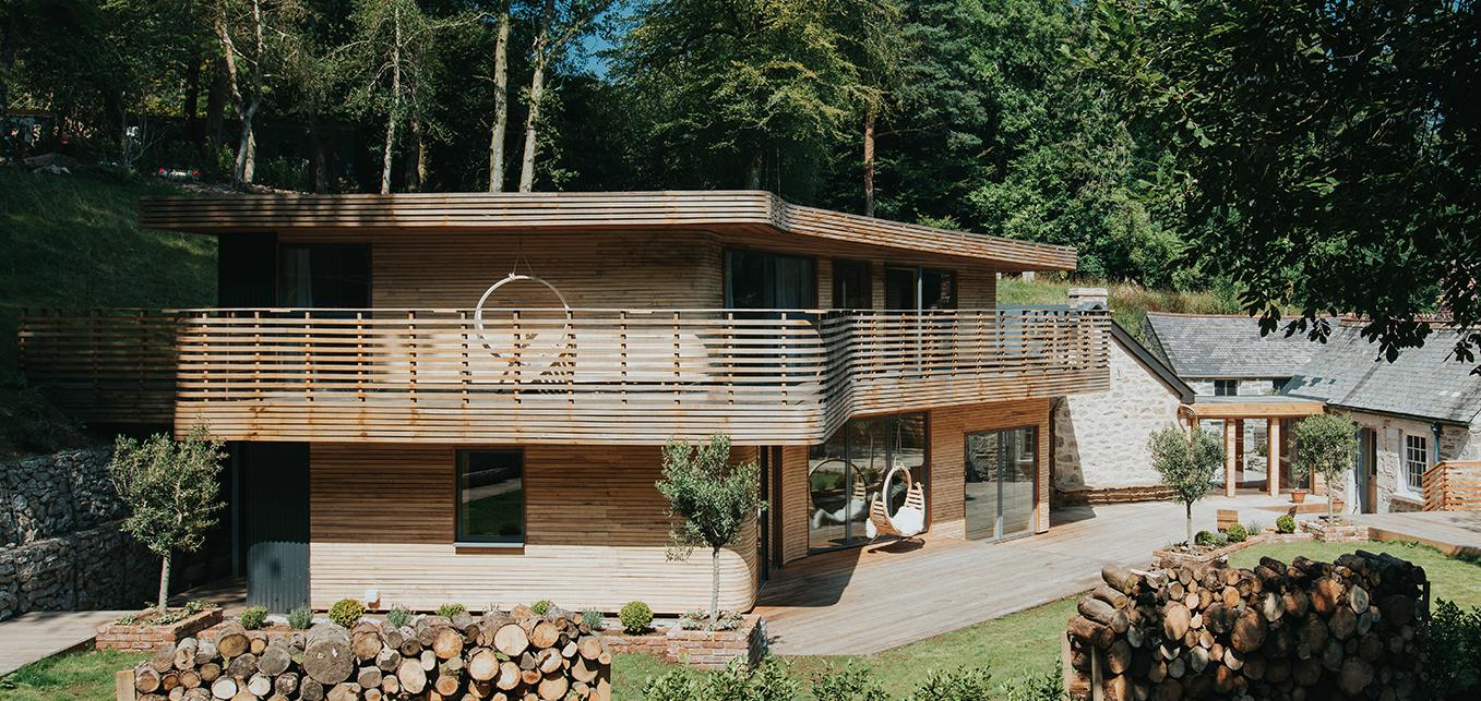 La espectacular casa de madera que un dise ador de muebles - Disenador de casas ...