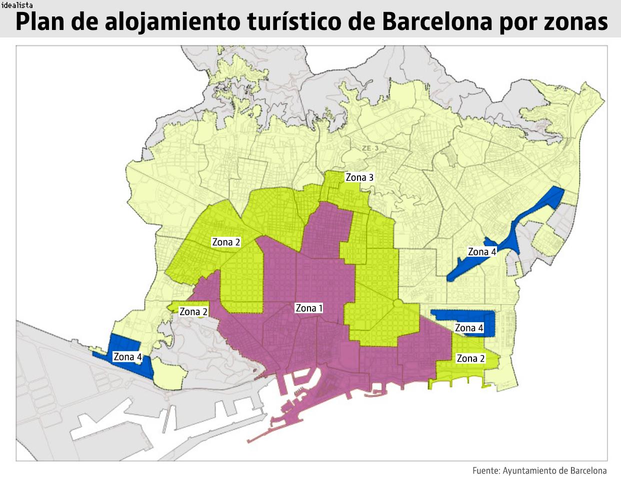 As quedar en el mapa la nueva regulaci n hotelera y de - Pisos turisticos barcelona ...