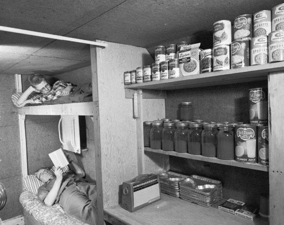 Archivo nacional de la agencia de defensa civil de EEUU