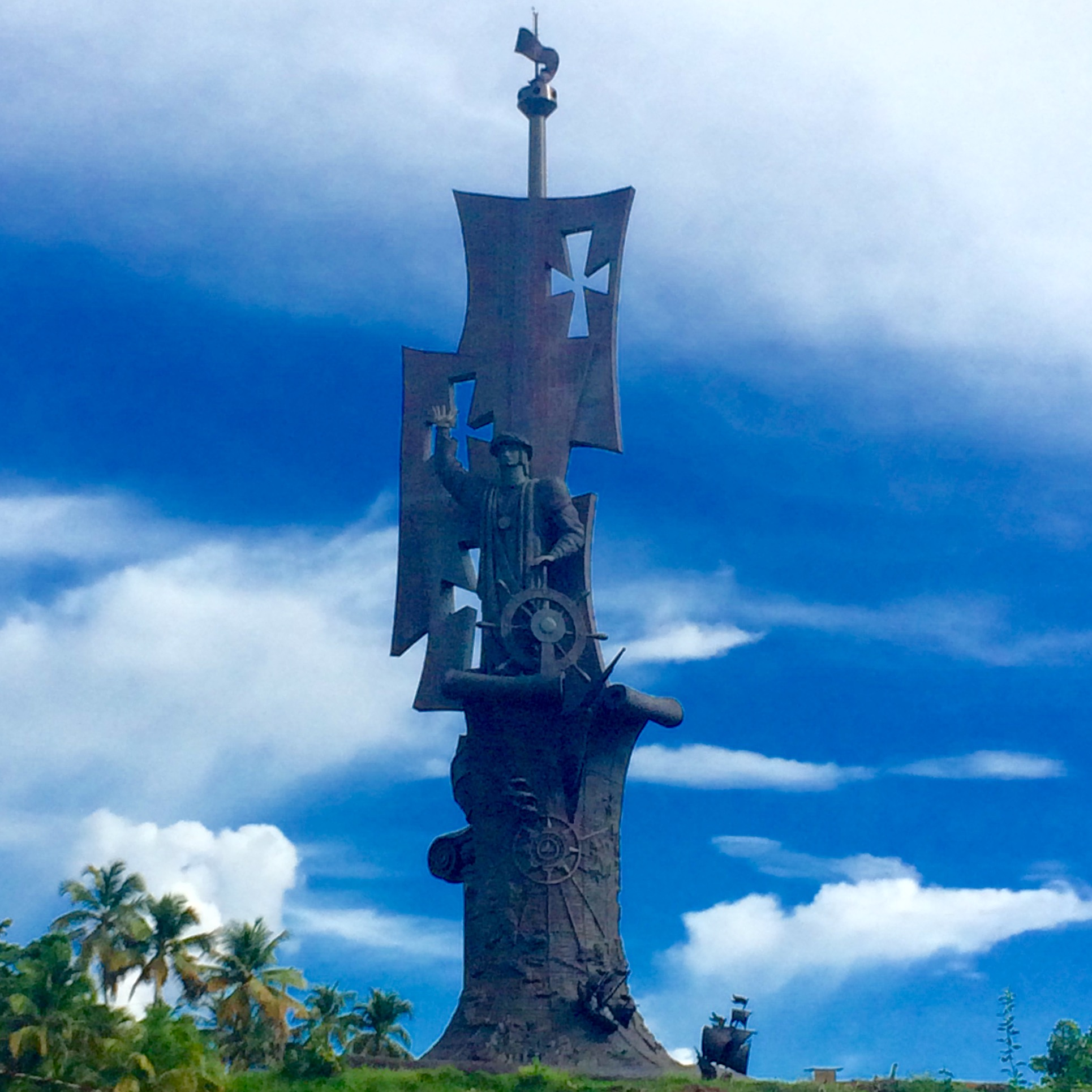 Nacimiento del Nuevo Mundo (110 metros), en Arecibo (Puerto Rico)