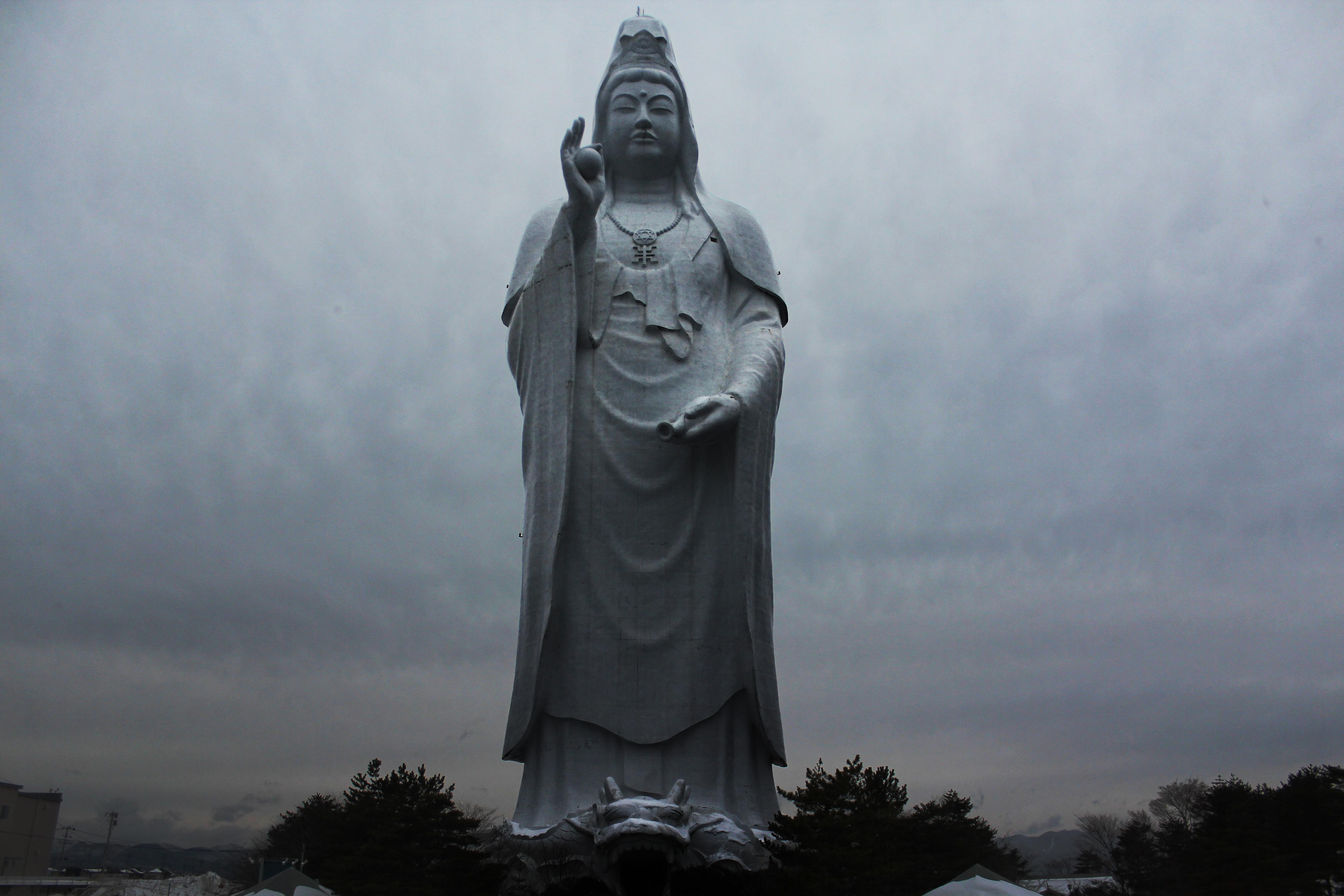 Dai Kannon (100 metros), en Sendai (Japón). Japanexperterna.se