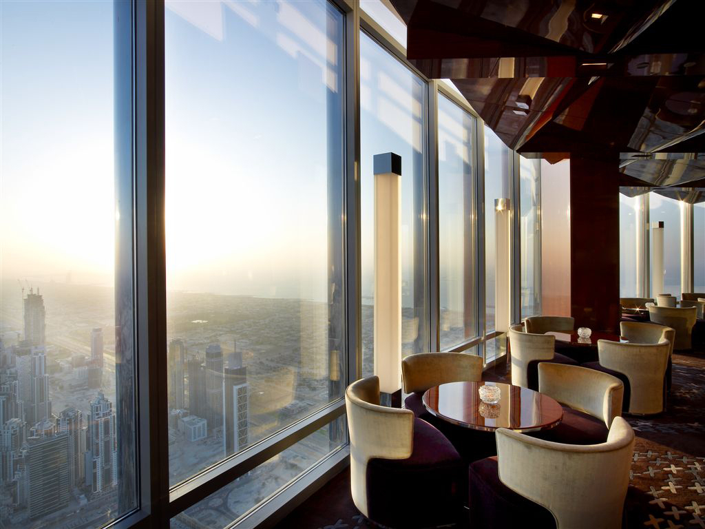 Cocina francesa en el rascacielos más alto del mundo