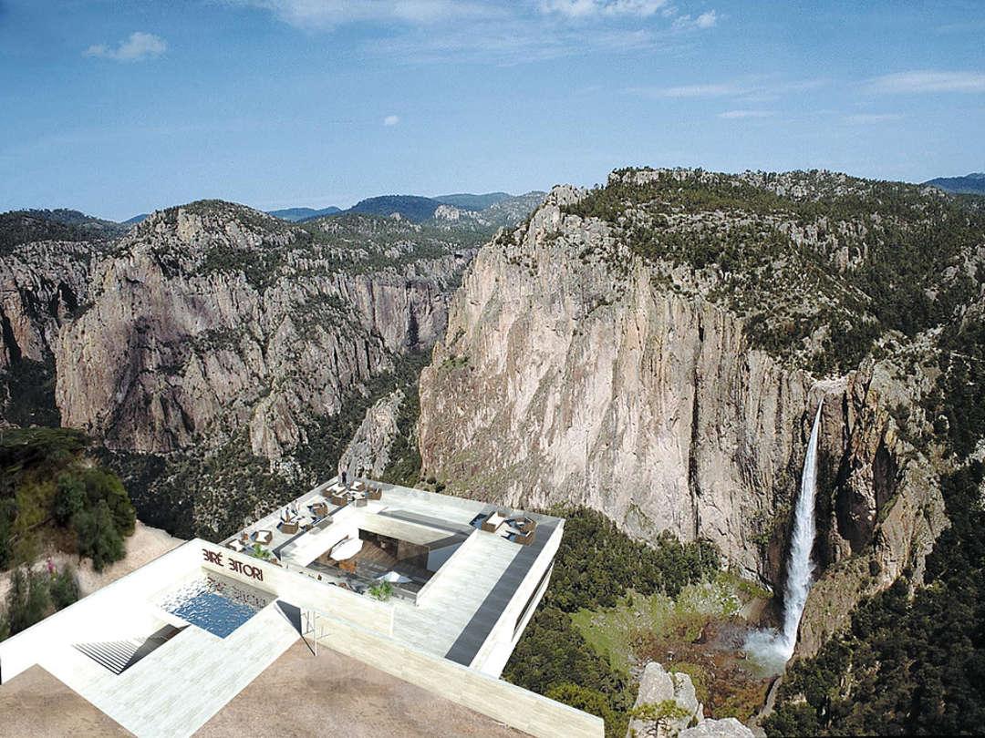 Una terraza en suspensión a 270 metros de altura