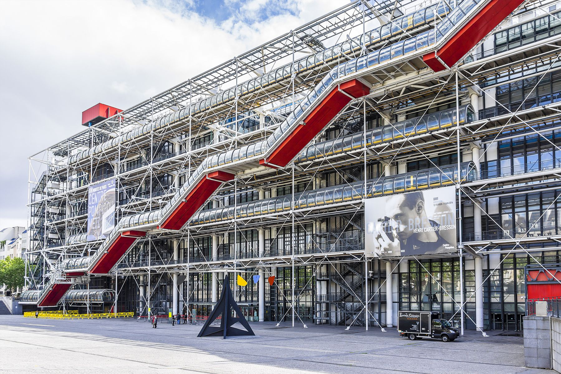 Centro Pompidou (París, Francia)