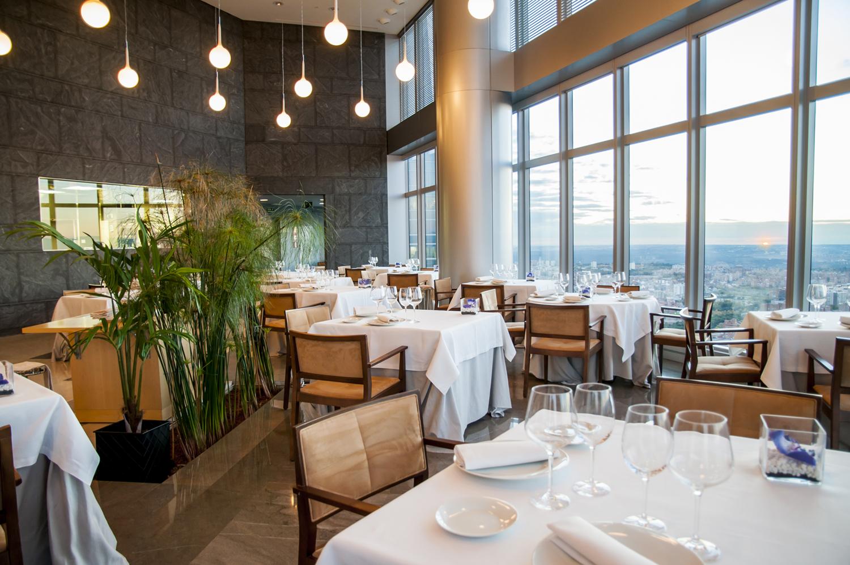 El restaurante más alto de España