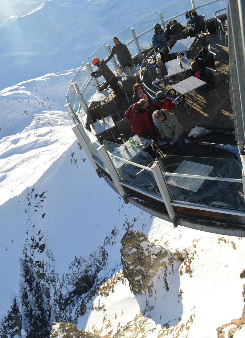Gastronomía de lujo en el Mont Blanc