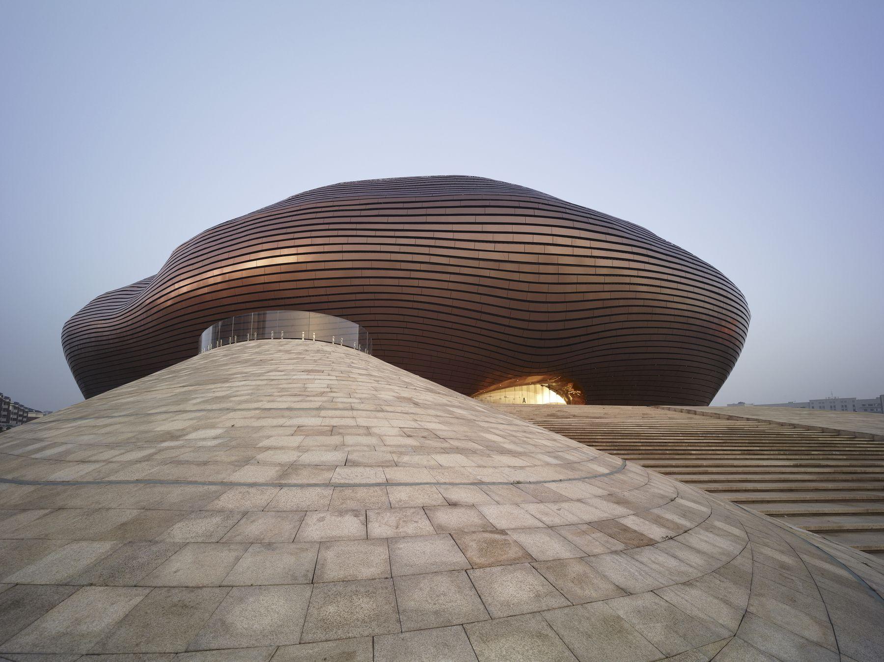 Museo Ordos (Ciudad de Ordos, China)