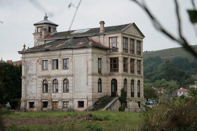 El turbador caserón asturiano de 'El orfanato'
