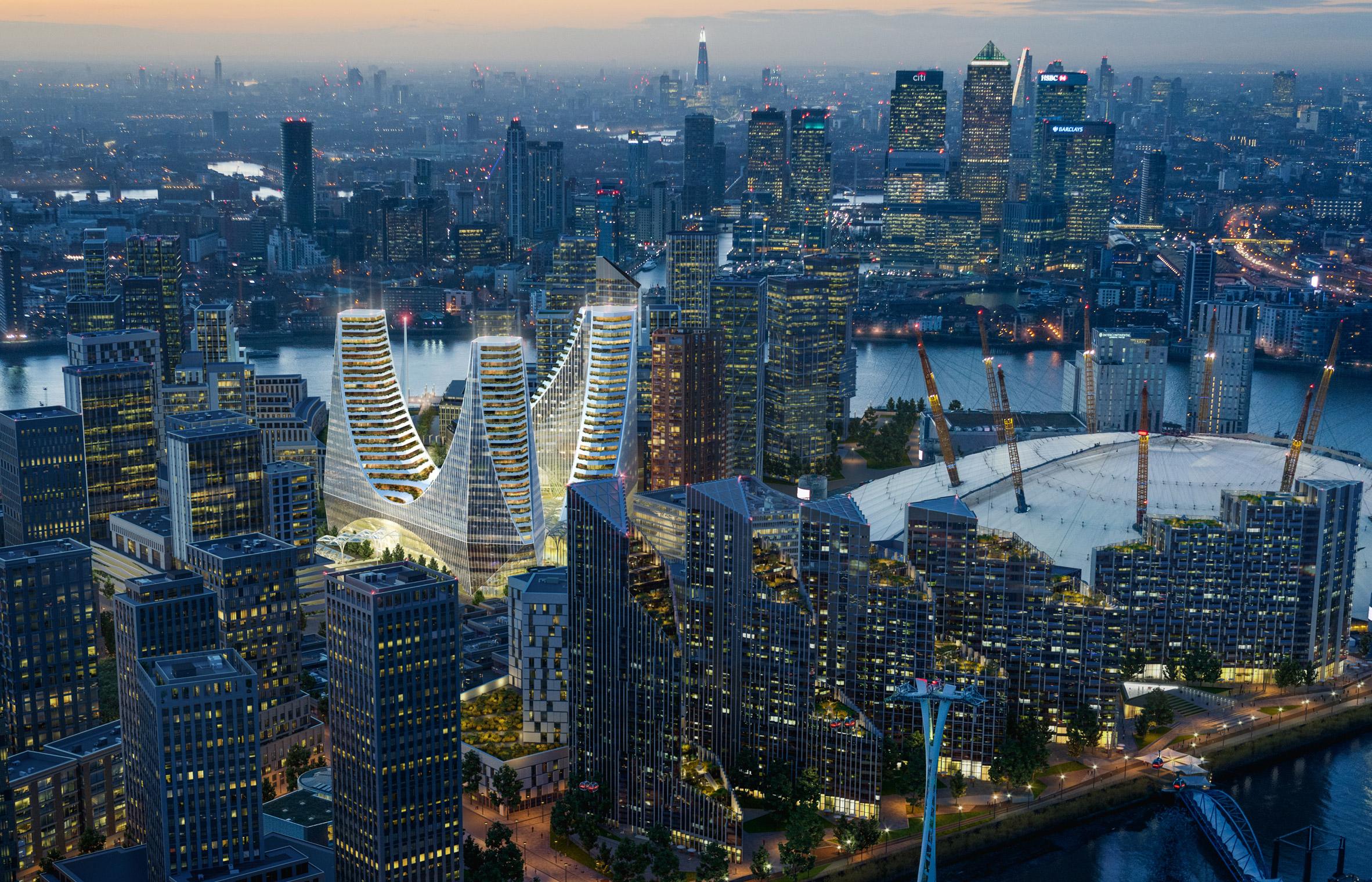 Proyecto Península Place de Santiago Calatrava