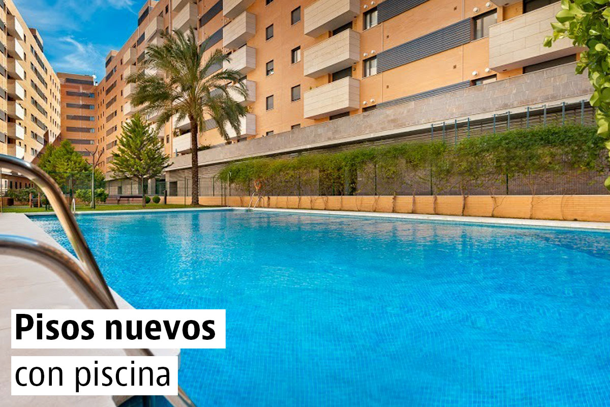 Pisos nuevos con piscina en las capitales de provincia for Piscinas climatizadas zaragoza