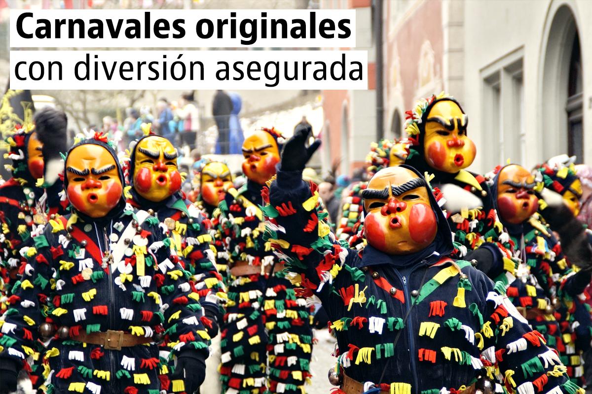 Carnavales espectaculares (y no tan conocidos) en España, Portugal e Italia