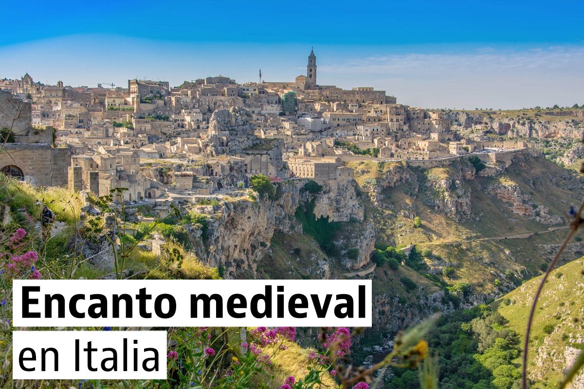 Los pueblos medievales más espectaculares de Italia