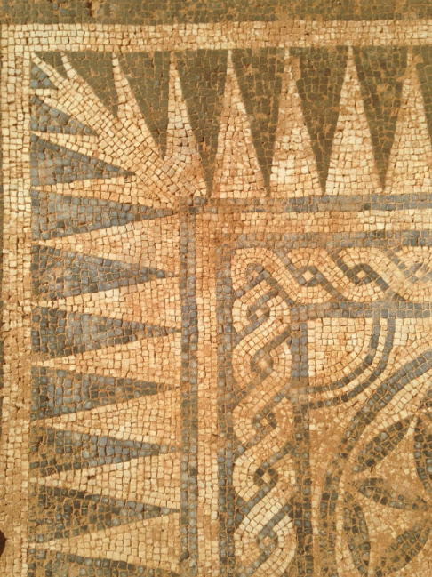 Detalle del mosaico. Fuente: Museo de Badalona / Creative commons