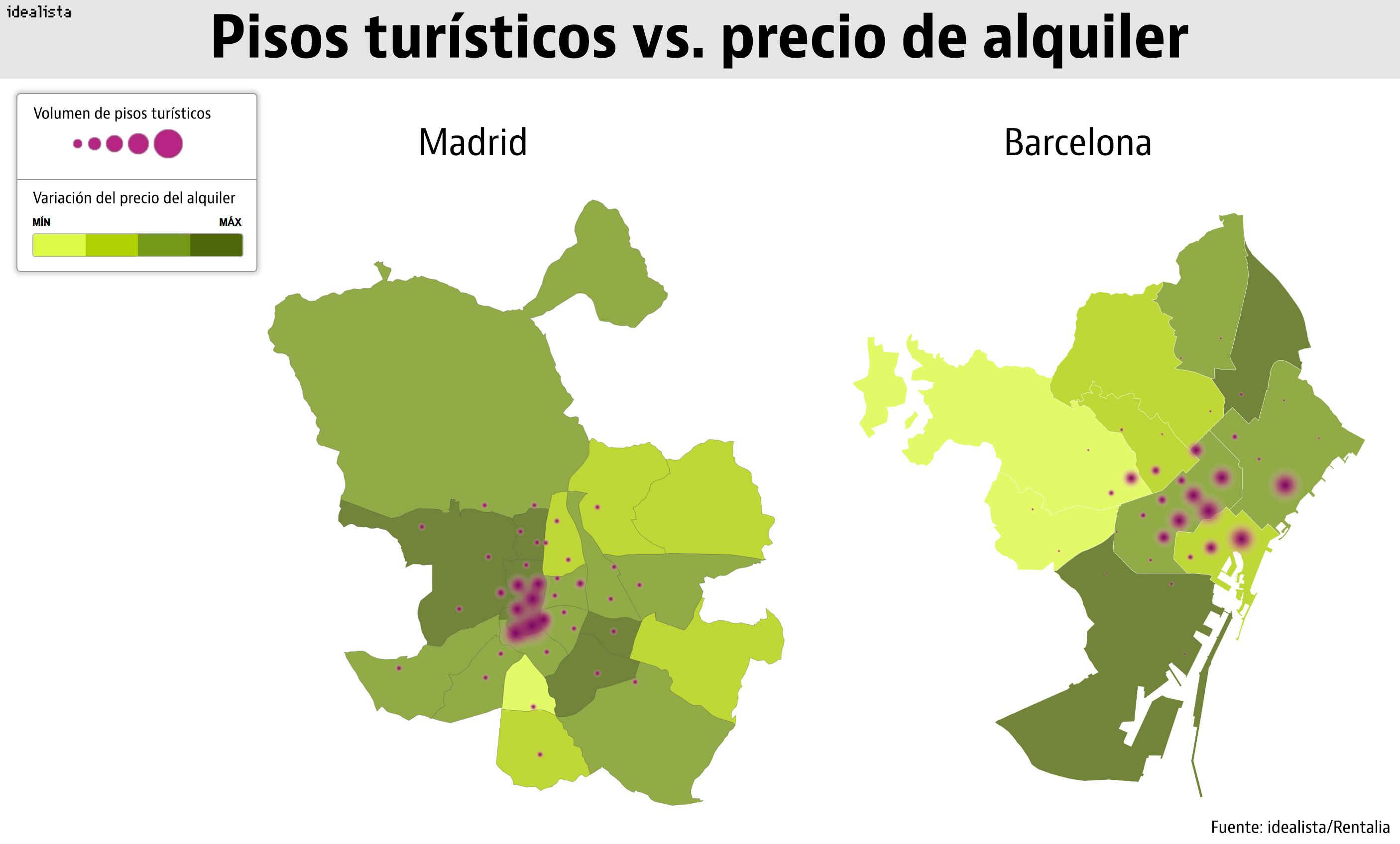 Por qu suben los alquileres una pista tiene poco que for Pisos turisticos madrid