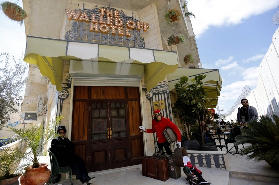 The Walled Off Hotel