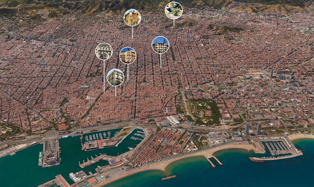 La Barcelona modernista en obras