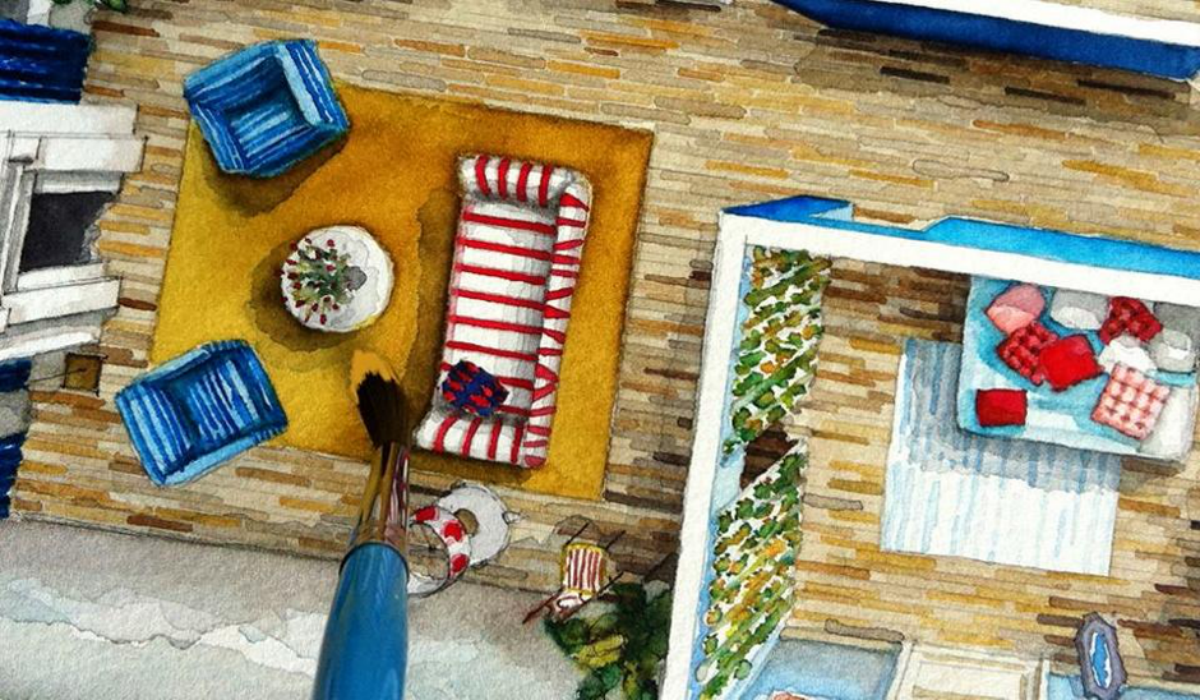 Floor Plan Croissant/Boryana Ilieva