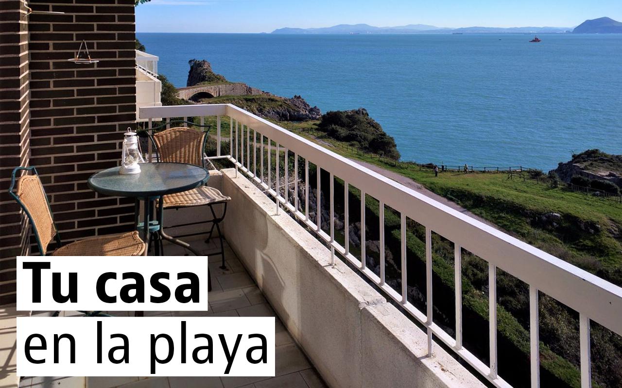 Casas baratas y con piscina en las playas con bandera azul for Casas en alquiler en la playa con piscina