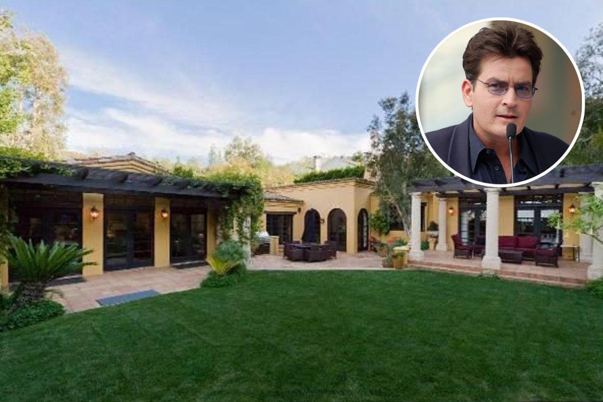 Charlie sheen vende su 39 casa para fiestas 39 por 5 millones for Para su casa