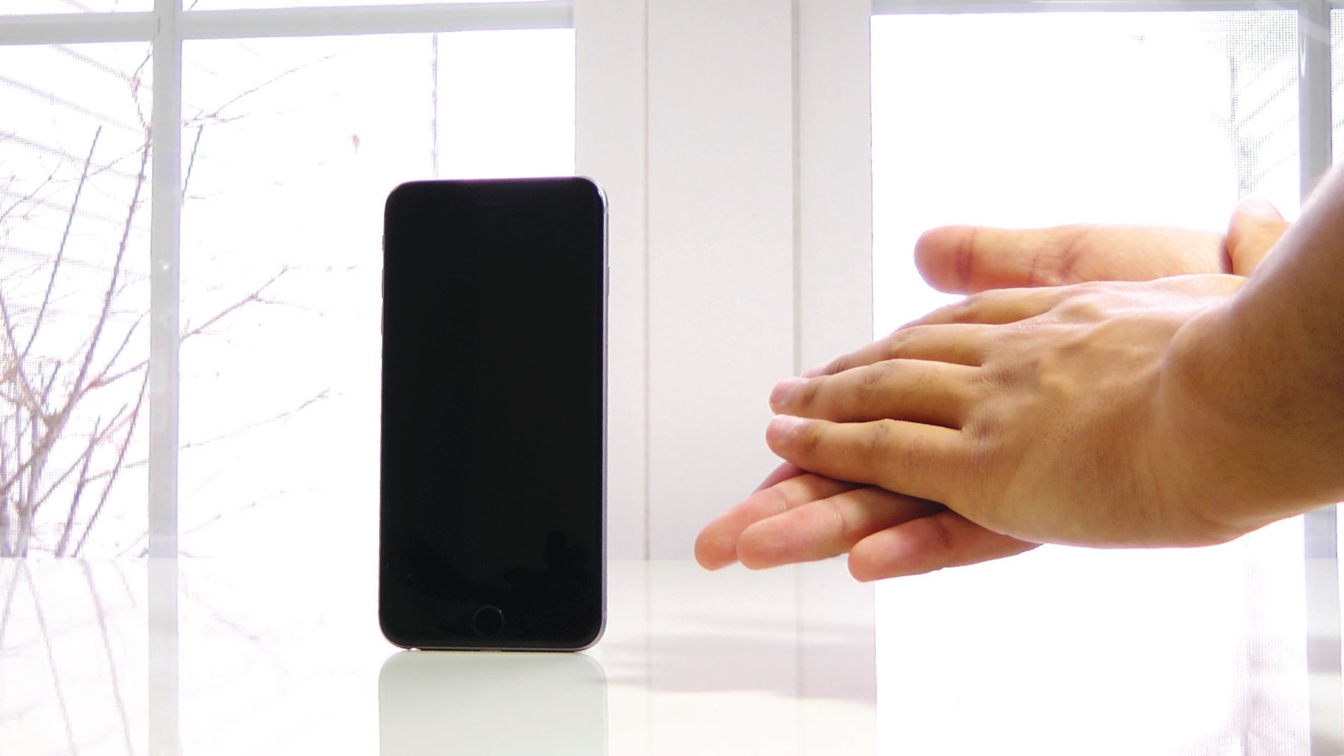 Encuentra el móvil con un aplauso