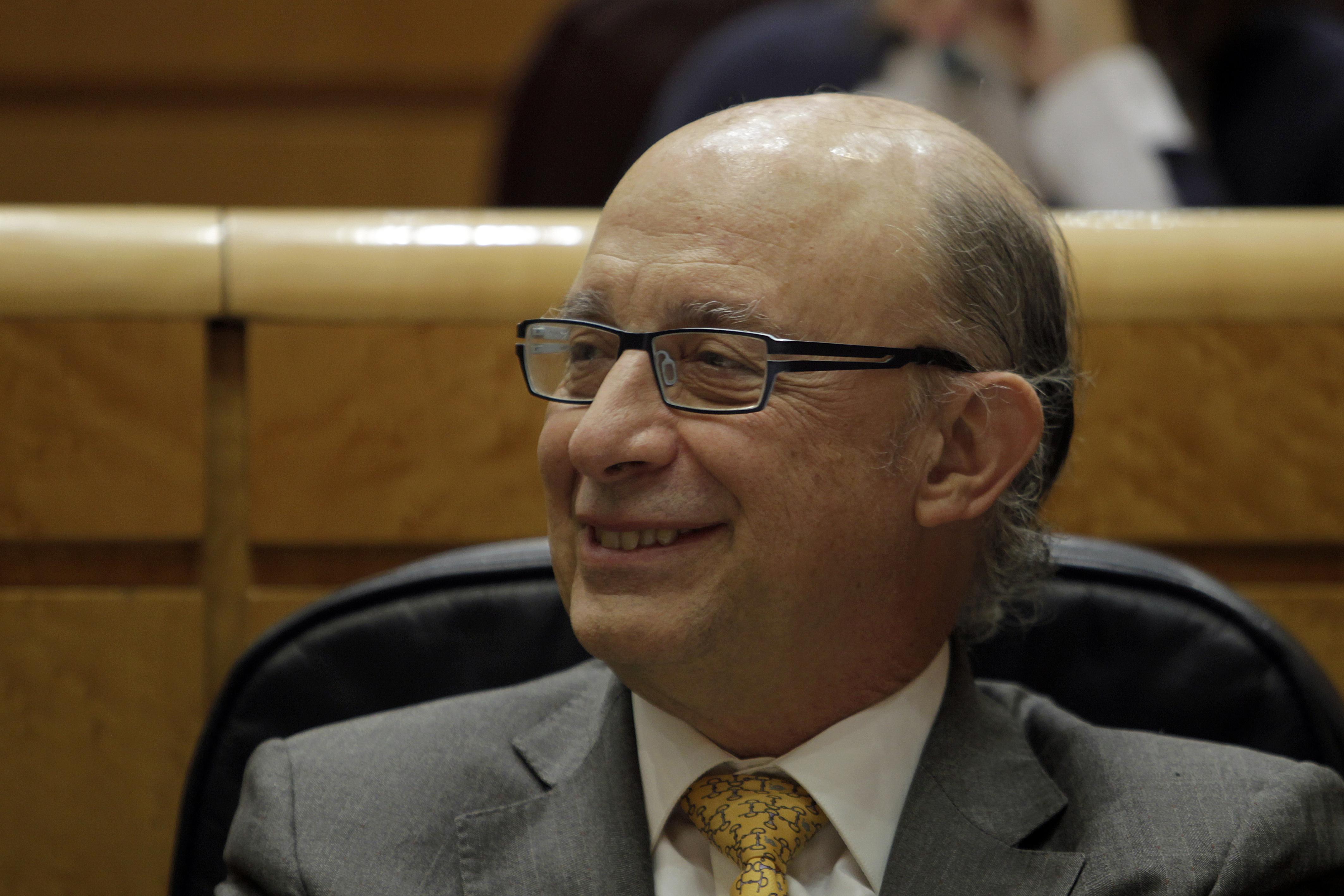 Cristóbal Montor, ministro de Hacienda