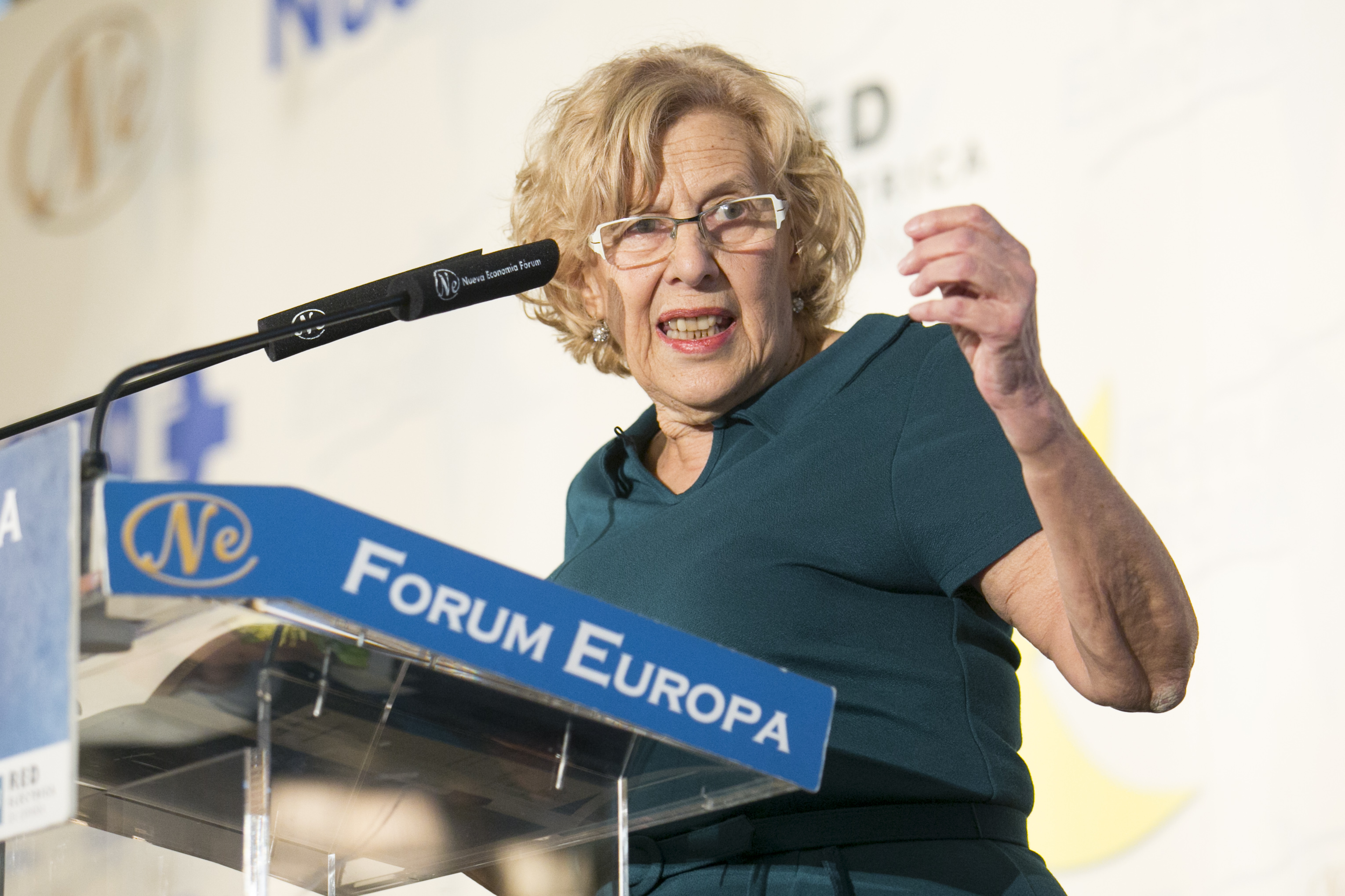 Manuela Carmena, alcaldesa de Madrid / Gtres